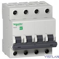 Schneider-electric EZ9F34463 АВТ. ВЫКЛ. EASY 9 4П 63А С 4,5кА 400В =S=