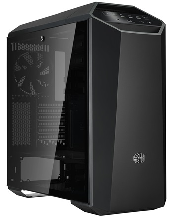 Cooler Master MasterCase MC500M, USB3.0x3, USB3.1(Type C)x1, 3x140Fan, Black, FullATX, w/o PSU