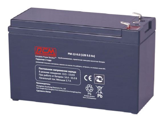 POWERCOM PM-12-9.0 (12V 9Ah)