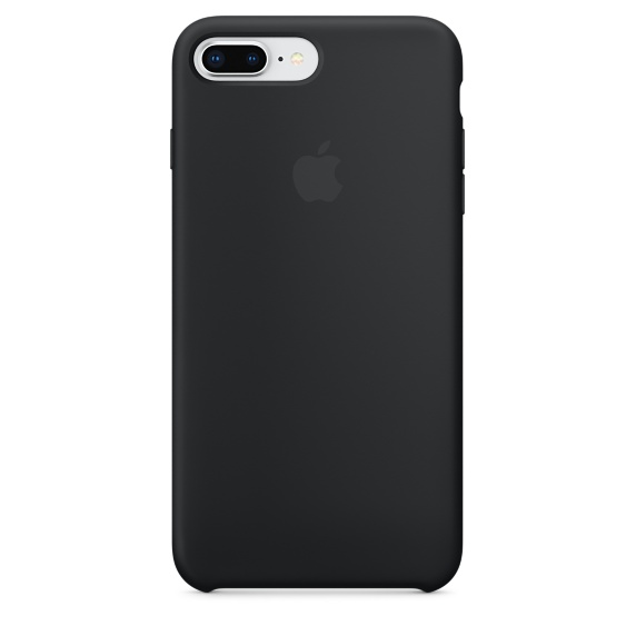 iPhone 8 Plus / 7 Plus Silicone Case - Black