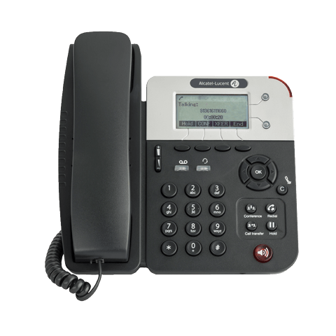 Телефон Alcatel-Lucent Ent Телефонный аппарат 8001 Deskphone - Entry-level SIP phone with high quality audio, 2 SIP accounts, 2 Fast Ethernet ports, POE or power supply connector, audio controls key, 3,5mm/RJ9 Headset connections, 4 programmable keys, wit