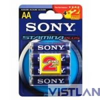 Sony LR6-4+2BL  STAMINA PLUS [AM3-B4X2D] (6/72/14400)