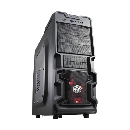 Cooler Master MasterBox MB600L w/ODD, 2xUSB3.0, 1x120Fan, w/o PSU, ATX, Black, w/GunMetal Trims