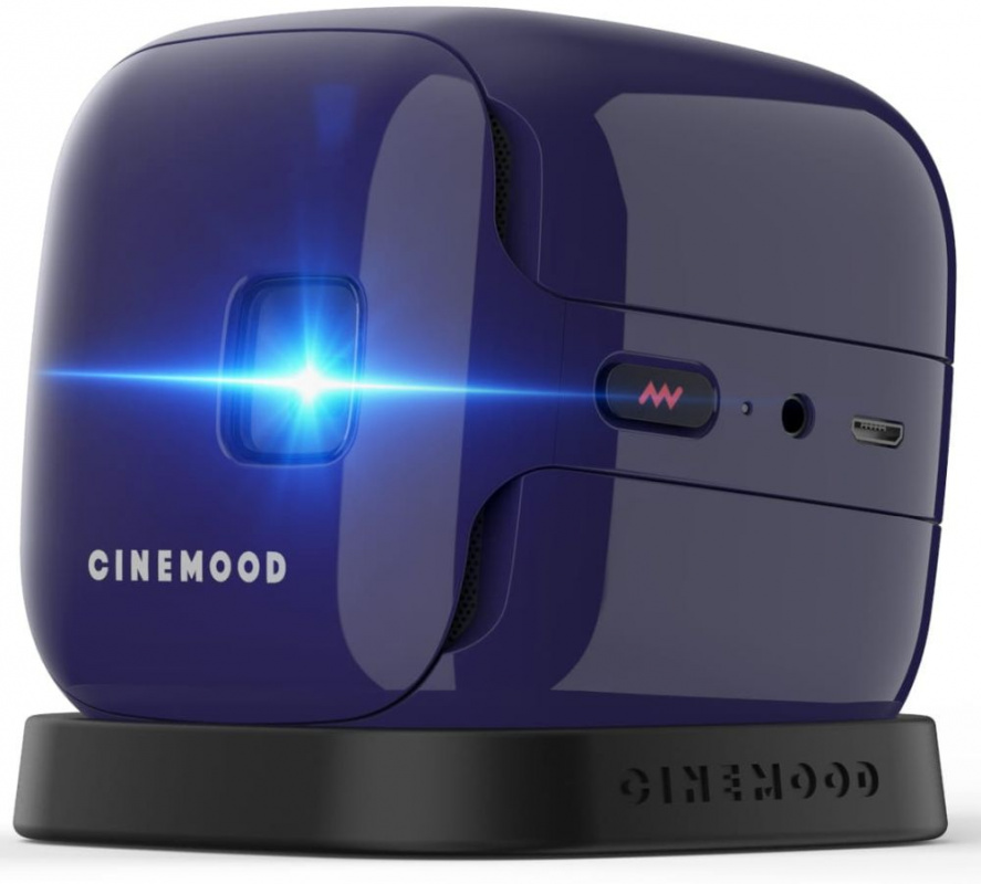 Portable projector CINEMOOD Storyteller  ,CNMD0016VI violet 32GB 6 мес подписки IVI