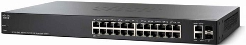 SF220-24P 24-Port 10/100 PoE Smart Switch