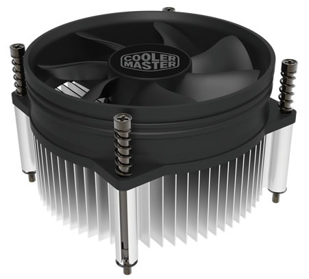 Cooler Master CPU Cooler I50, Intel 115*, 84W, Al, 3pin