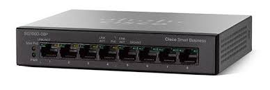 SG110D-08HP 8-Port PoE Gigabit Desktop Switch