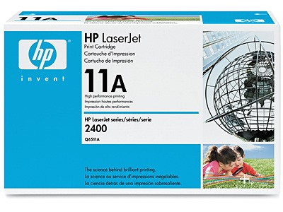 HP LaserJet Q6511A Black Print Cartridge