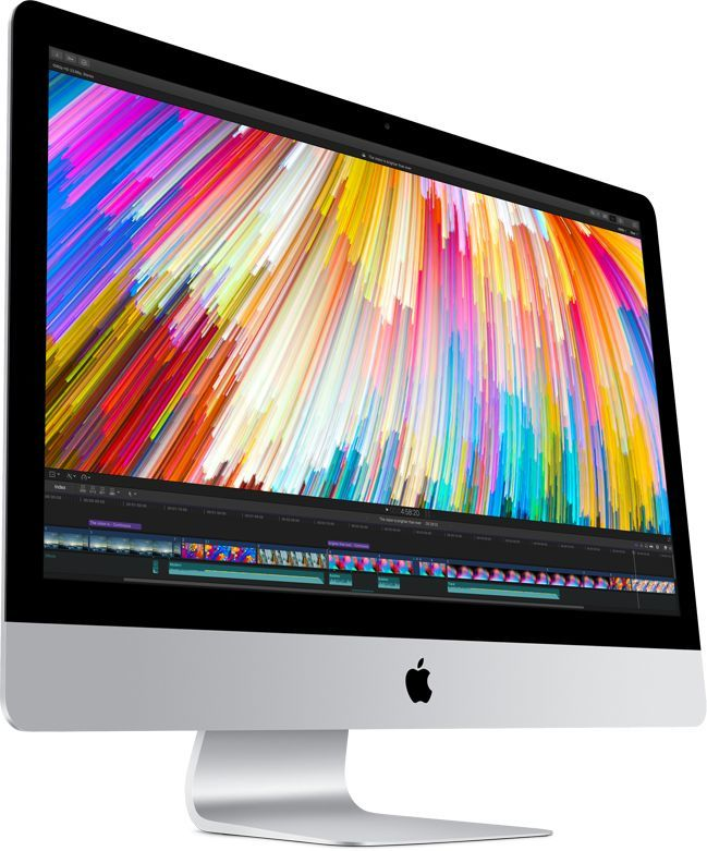 Apple iMac 27-inch with Retina 5K display: 3.5GHz quad-core Intel Core i5 (TB up to 4.1GHz)/8GB/1TB Fusion Drive/Radeon Pro 575 with 4GB video memory