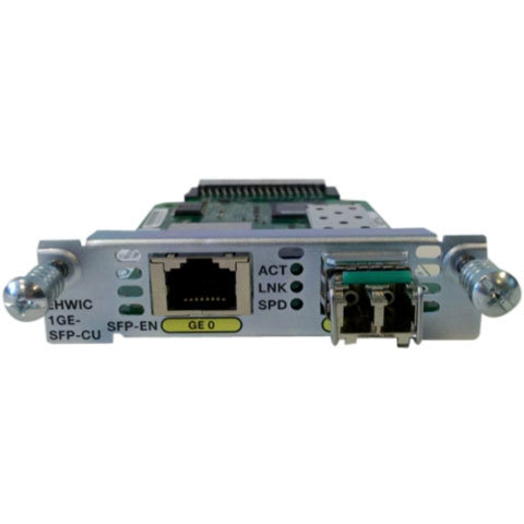 EHWIC 1 port dual mode SFP(100M/1G) or GE(10M/100M/1G) Spare