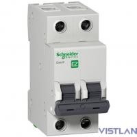Schneider-electric EZ9F14206 АВТ. ВЫКЛ. EASY 9 2П 6А В 4,5кА 230В =S=
