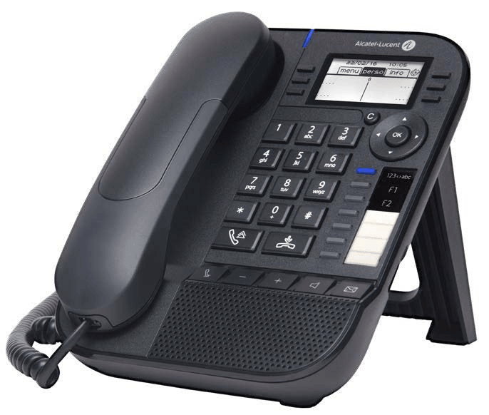 Телефон Alcatel-Lucent Ent Телефон 8018 Deskphone Moon Grey, NOE-SIP, 64x128 backlit black   white LCD, 6 soft keys, Handsfree, Wideband Comfort Handset, 2 Gig Ethernet Ports, USB, POE or power supply, F1/F2-Hold/Transfer Paper label. Ethernet cable is no