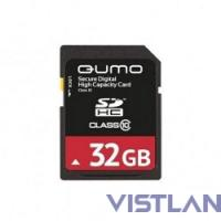 SecureDigital 32Gb QUMO QM32GSDHC10U1 {SDHC Class 10, UHS-I}