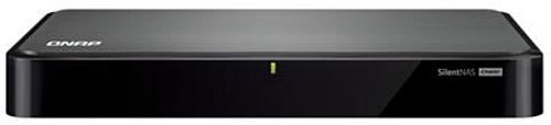 channel QNAP S2 NAS, 2-tray w/o HDD, Silent, fanless, HDMI-port. Quadcore Intel Celeron J1900 2,0 GHz