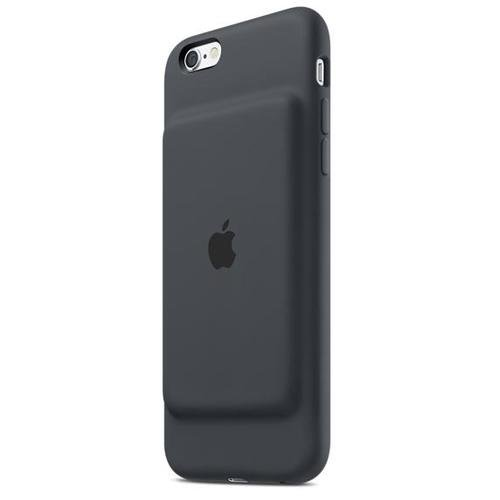 iPhone 6/6s Smart Battery Case - Charcoal Gray