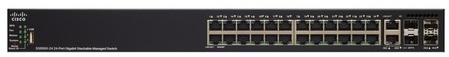 Cisco SG550X-24P 24-port Gigabit PoE Stackable Switch