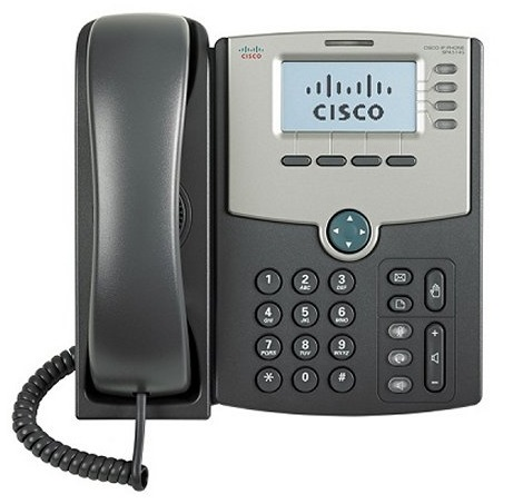 4 Line IP Phone , PoE and Gigabit PC Port -Crypto disabled