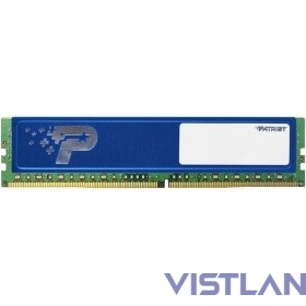 Patriot DDR4 DIMM 4GB PSD44G240041H PC4-19200, 2400MHz
