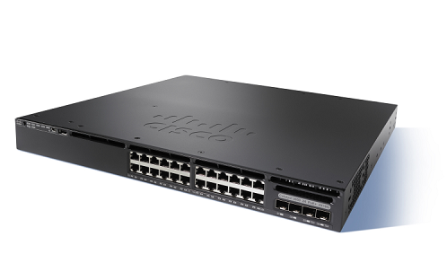 Cisco Catalyst 3650 48 Port PoE 4x1G Uplink LAN Base