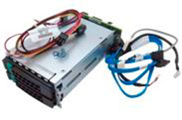 2U Rear Hot-swap Dual Drive Cage Upgrade Kit A2UREARHSDK2 for R2000WF Systems. Connects 2x SATA Drives.