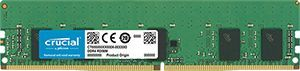 Crucial 8GB DDR4 2666 MT/s (PC4-21300) CL19 Single Rank x8 ECC Registered DIMM 288pin