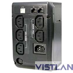Источник бесперебойного питания Powercom Back-UPS IMPERIAL, Line-Interactive, 625VA / 375W, Tower, IEC, USB