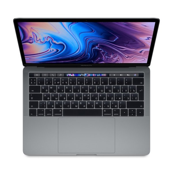 13-inch MacBook Pro with Touch Bar - Space Gray/2.7GHz quad-core 8th-generation Intel Core i7 processor, Turbo Boost up to 4.5GHz/16GB 2133MHz LPDDR3 memory/1TB SSD storage/Intel Iris Plus Graphics 655