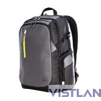 "DELL [460-BBKMz] Рюкзак 17"" Black-grey-yellow"