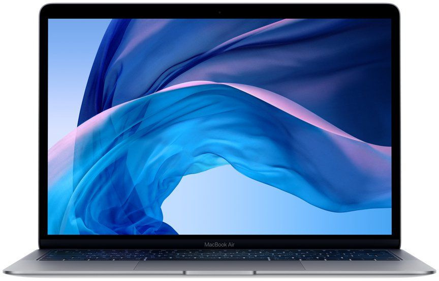13-inch MacBook Air: 1.6GHz dual-core 8th-generation Intel Core i5 (TB up to 3.6GHz)/8GB/128GB SSD/Intel UHD Graphics 617 - Space Grey