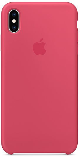 iPhone XS Silicone Case - Hibiscus