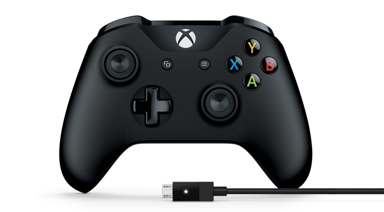 Microsoft GAMEPAD Xbox Controller + Cable for Windows