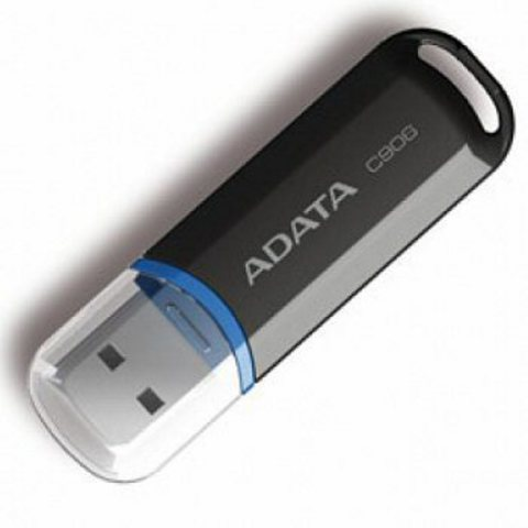 ADATA 16GB C906 USB Flash Drive (Black)
