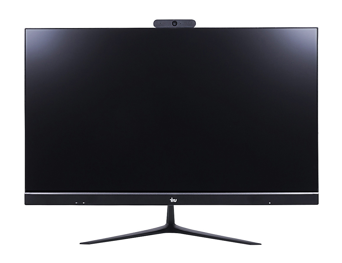 "Моноблок IRU Office P2121 21.5"" Full HD i5 9400 (2.9)/8Gb/SSD240Gb/UHDG 630/Free DOS/GbitEth/WiFi/BT/120W/Cam/черный 1920x1080"