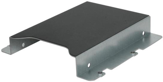 "Single 2.5"" fixed HDD mounting bracket"