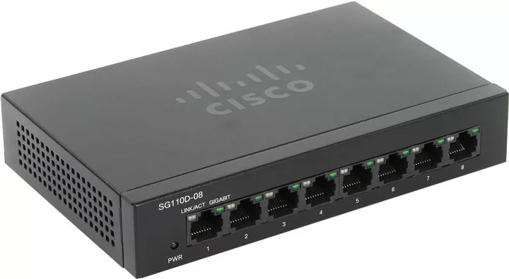 SF110D-08 8-Port 10/100 Desktop Switch