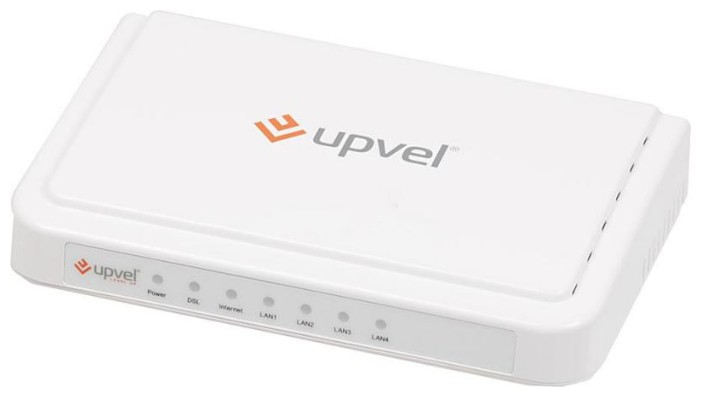 Роутер Upvel UR-104AN 10/100BASE-TX белый
