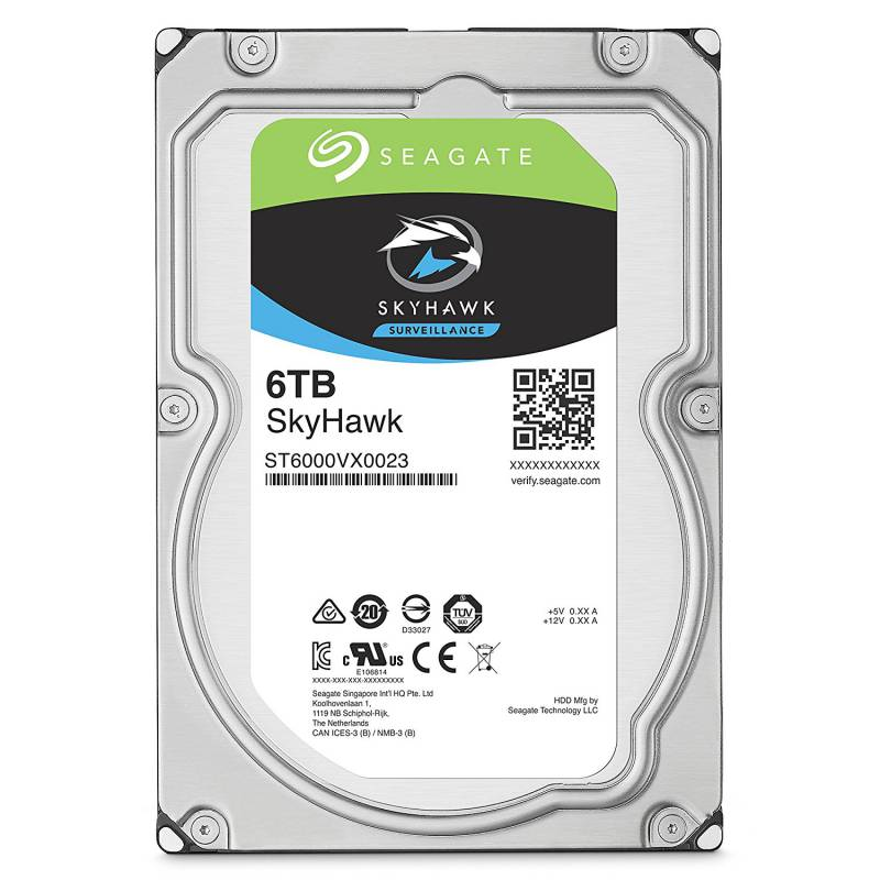 Жесткий диск Seagate Original SATA-III 6Tb ST6000VX0023 Video Skyhawk (7200rpm) 256Mb 3.5""
