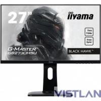 Монитор жидкокристаллический Iiyama Монитор LCD 27'' [16:9] 1920х1080(FHD) TN, nonGLARE, 300cd/m2, H170°/V160°, 1000:1, 12М:1, 16.7M Color, 1ms, VGA, HDMI, DP, USB-Hub, Height adj, Pivot, Tilt, HAS, Speakers, Swivel, 3Y, Black