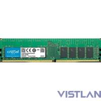 Crucial 16GB DDR4  2666 MT/s (PC4-21300) CL19 SR x4 ECC Registered DIMM 288pin