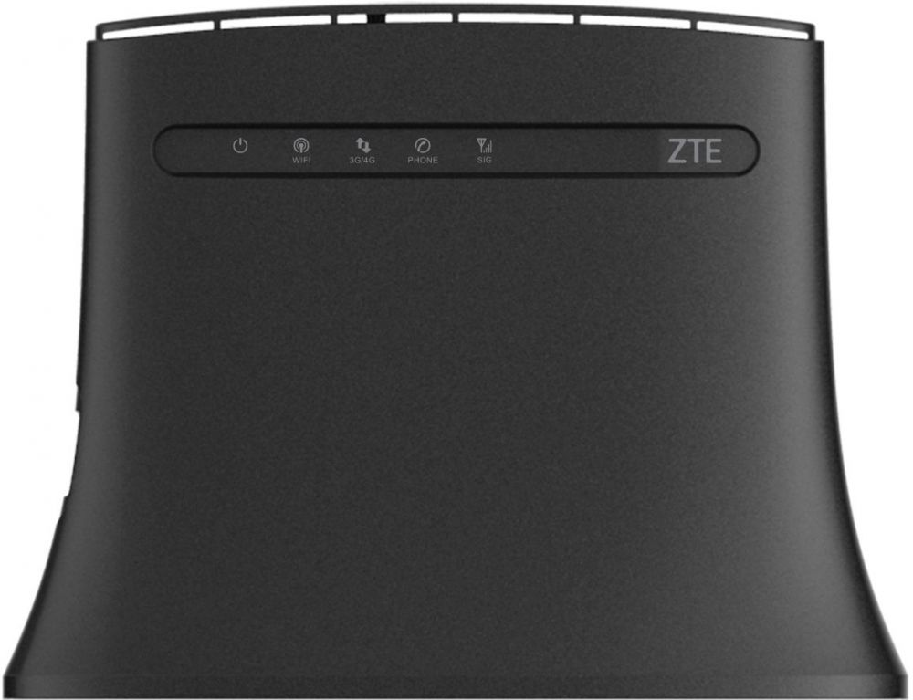 Интернет-центр ZTE MF283 10/100BASE-TX/4G(3G) cat.4 черный