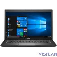 "Dell Latitude 7280 12.5""(1920x1080)/Intel Core i7 6600U(2.6Ghz)/16384Mb/512SSDGb/noDVD/Int:Intel HD Graphics 520/Cam/BT/WiFi/60WHr/war 3y/1.18kg/black/W10Pro"