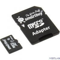 Micro SecureDigital 128Gb Smart buy SB128GBSDCL10-01 {Micro SDHC Class 10, UHS-1, SD adapter}