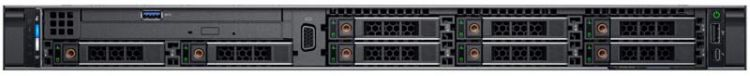 "PowerEdge R640 (2)*Silver 4110 (2.1GHz, 8C), 32GB (2x16GB) RDIMM, No HDD (up to 8x2.5""), PERC H730P/2GB mini, Riser 1FH + 1LP, Intel i350 QP 1Gb BT LOM, iDRAC9 Enterprise, RPS (2)*750W, Bezel w/o QuickSync, ReadyRails with CMA, 3Y ProSupport NBD"
