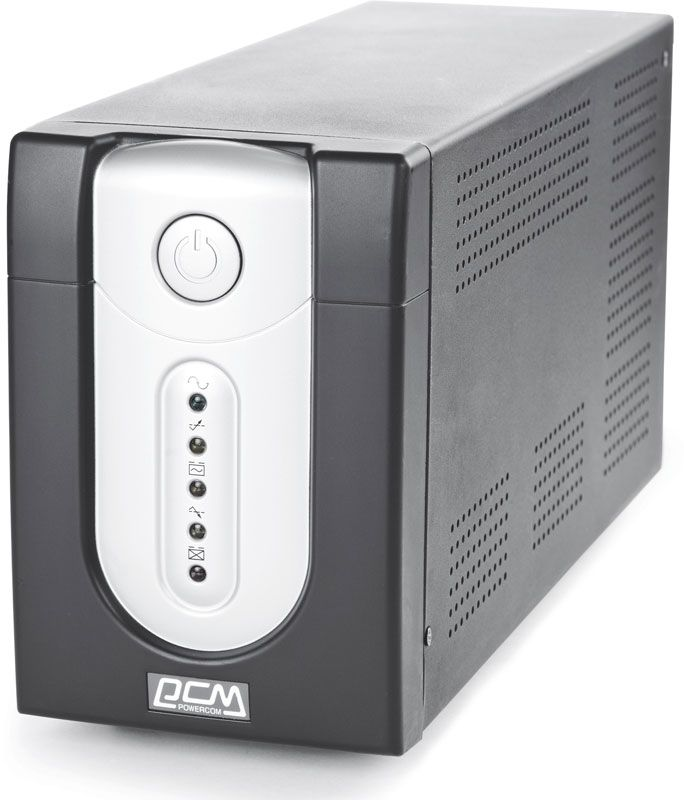 Источник бесперебойного питания Powercom Back-UPS IMPERIAL, Line-Interactive, 2000VA / 1200W, Tower, IEC, USB