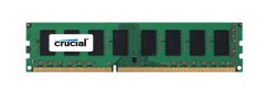Crucial 2GB DDR3L 1600 MT/s (PC3L-12800) CL11 Unbuffered UDIMM 240pin 1.35V/1.5V