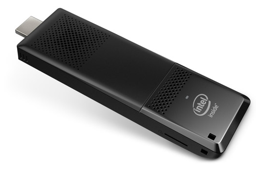 Intel Compute Stick BOXSTK1AW32SC Intel X5-Z8300, 32GB SSD, DDR3L 2GB, microSD, WI-FI, Bluetooth, Windows 10, 946469