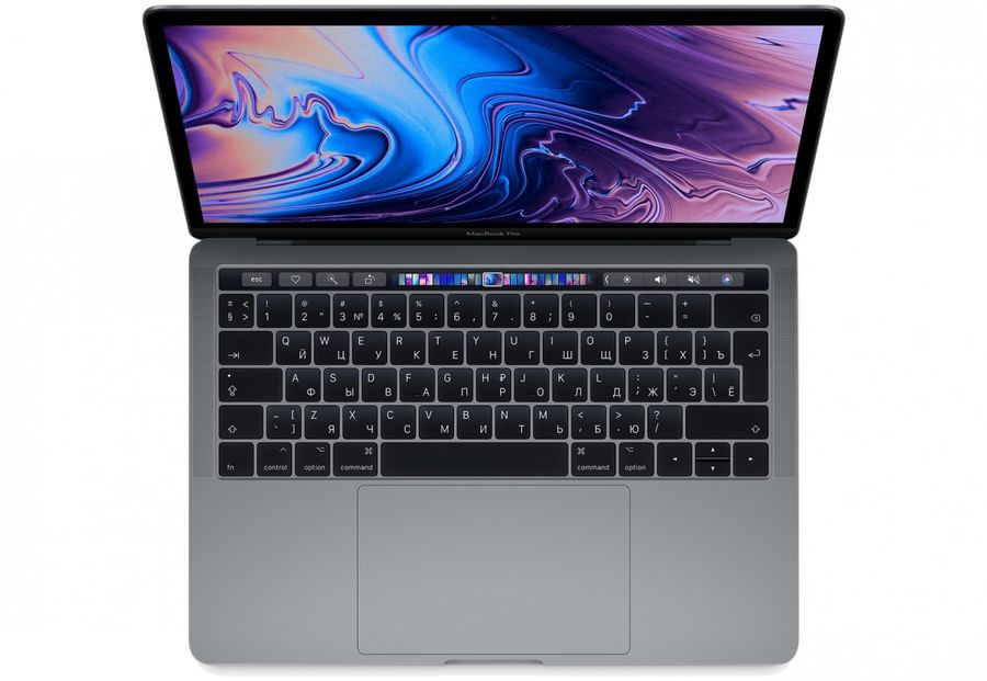 13-inch MacBook Pro with Touch Bar - Space Gray/2.7GHz quad-core 8th-generation Intel Core i7 processor, Turbo Boost up to 4.5GHz/16GB 2133MHz LPDDR3 memory/512GB SSD storage/Intel Iris Plus Graphics 655