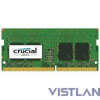 Память DDR4 8Gb 2133MHz Crucial CT8G4SFD8213 RTL PC4-17000 CL15 SO-DIMM 260-pin 1.2В dual rank