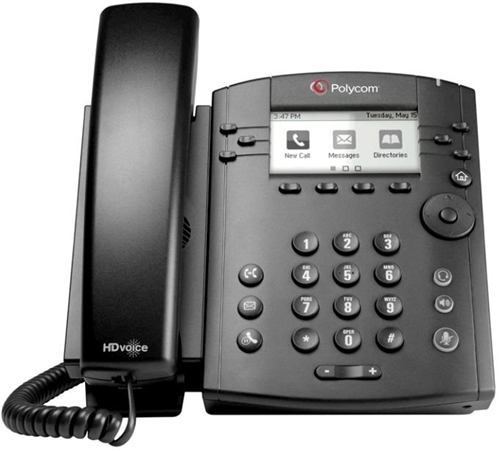 VVX 311 6-line Desktop Phone Gigabit Ethernet with HD Voice. Ships without power supply and factory disabled media encryption.