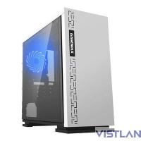GameMax [H605 EXPEDITION WHT] без БП (Midi Tower, ATX, White) (со стеклом)